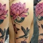 çiçek-dövme-modelleri
