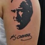 Atatürk Dövme