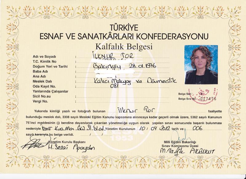Dövme Belge, İlknur Tor