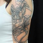 İyi kötü melek Tattoo