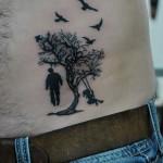 Yaşam Ağacı Dövme